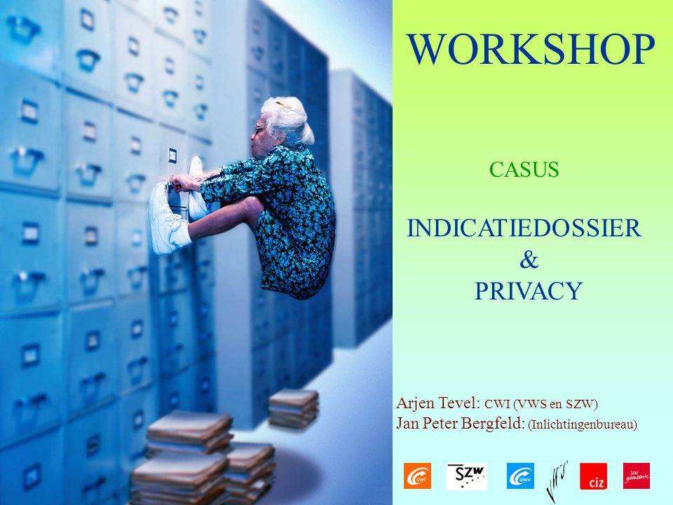 WORKSHOP INDICATIEDOSSIER & PRIVACY CASUS