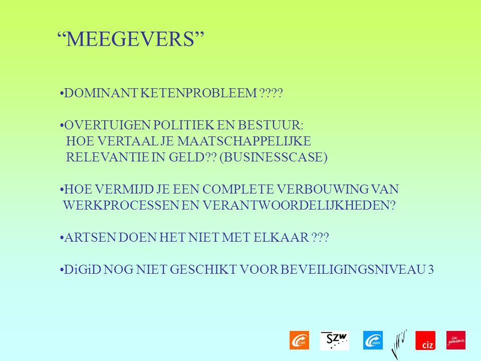 MEEGEVERS DOMINANT KETENPROBLEEM
