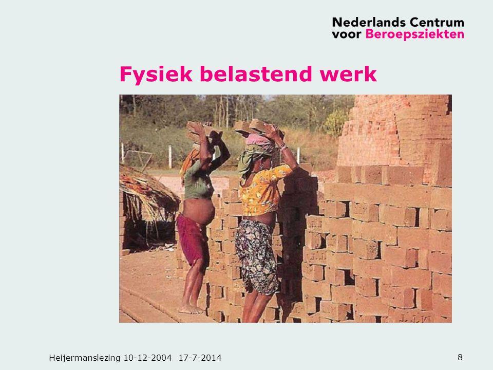Fysiek belastend werk Heijermanslezing 10-12-2004 4-4-2017