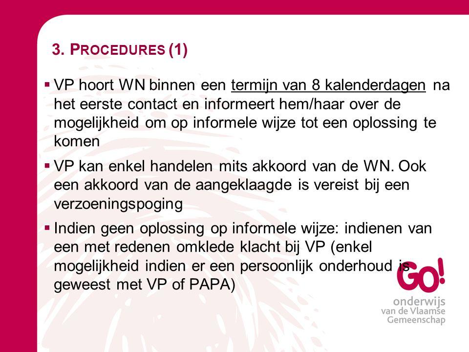 3. Procedures (1)