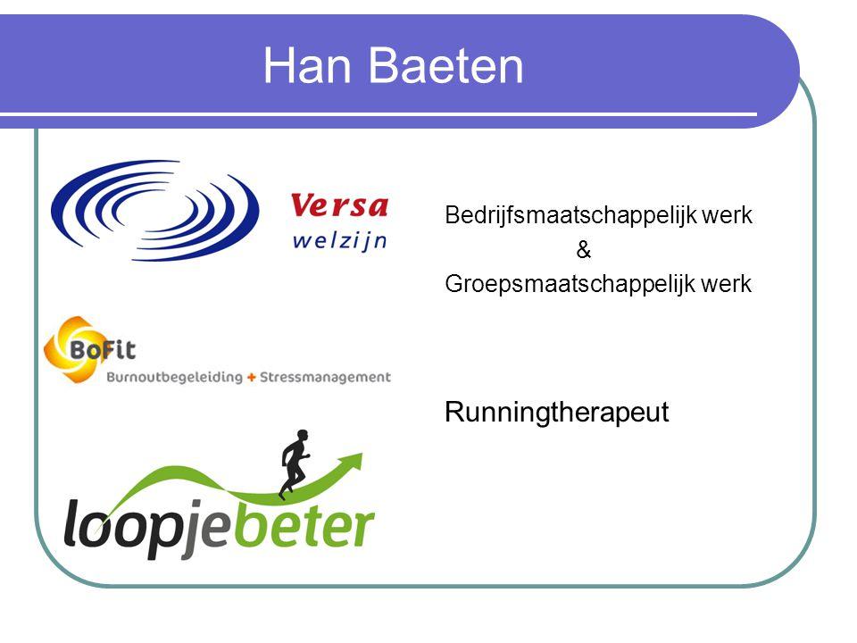 Han Baeten Runningtherapeut Bedrijfsmaatschappelijk werk &