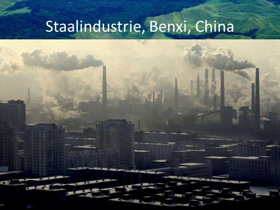 Staalindustrie, Benxi, China