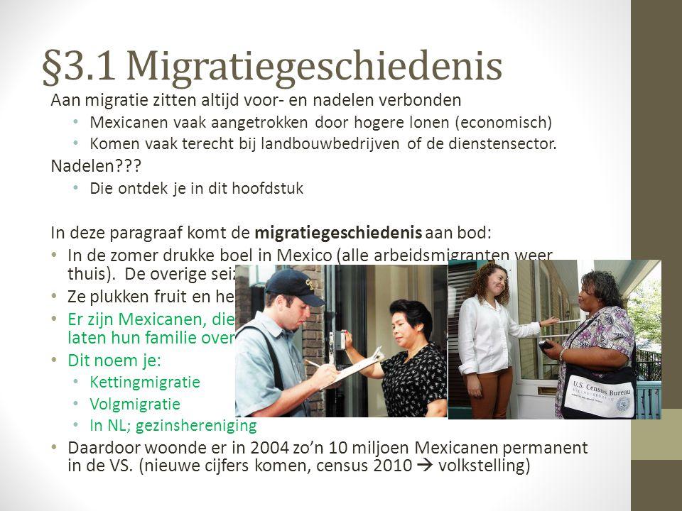 §3.1 Migratiegeschiedenis