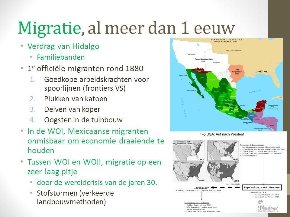 Migratie, al meer dan 1 eeuw