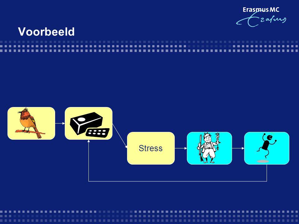 Voorbeeld Stress