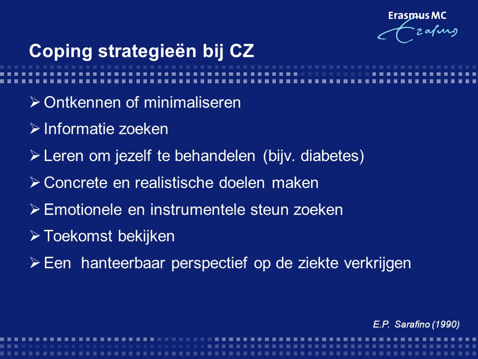 Coping strategieën bij CZ