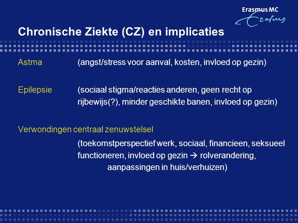 Chronische Ziekte (CZ) en implicaties