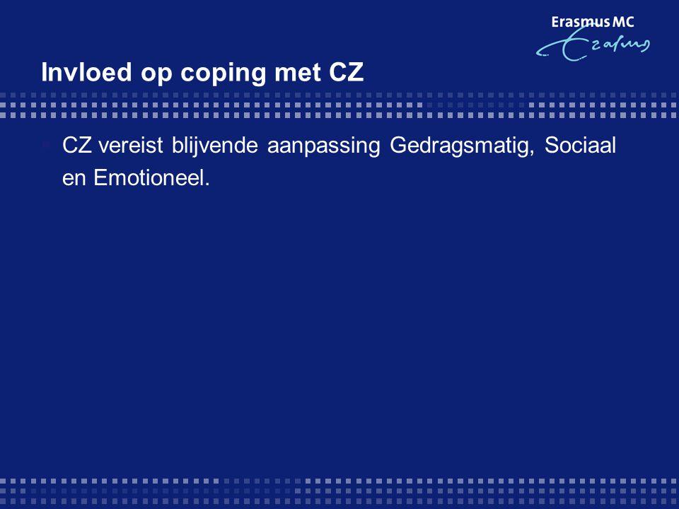 Invloed op coping met CZ