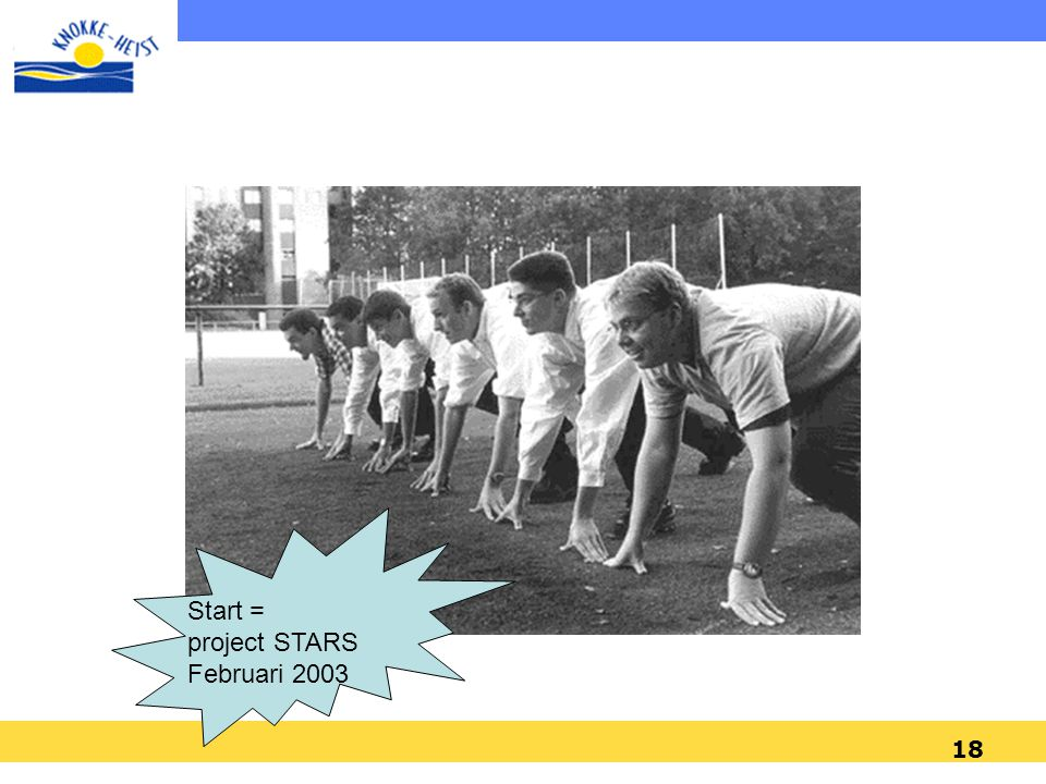 Start = project STARS Februari 2003