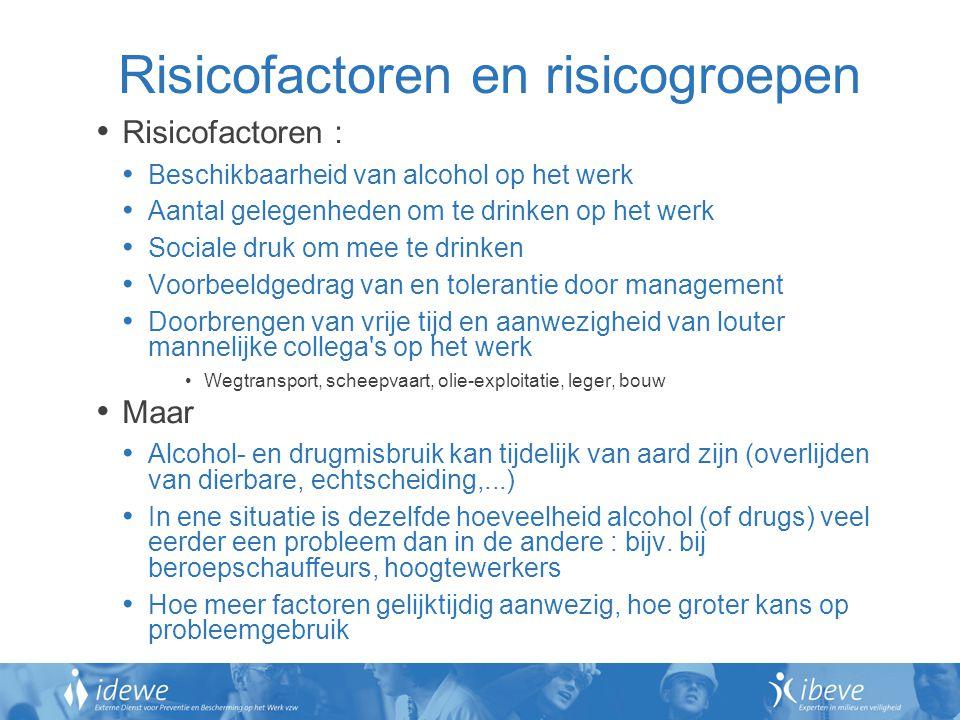Risicofactoren en risicogroepen