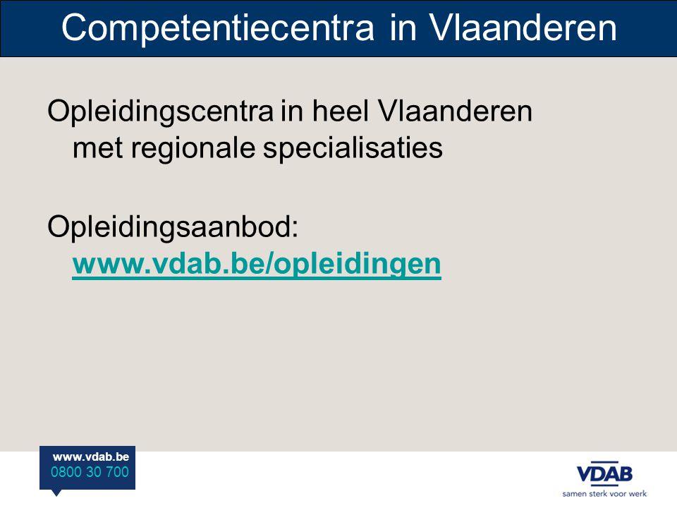 Competentiecentra in Vlaanderen