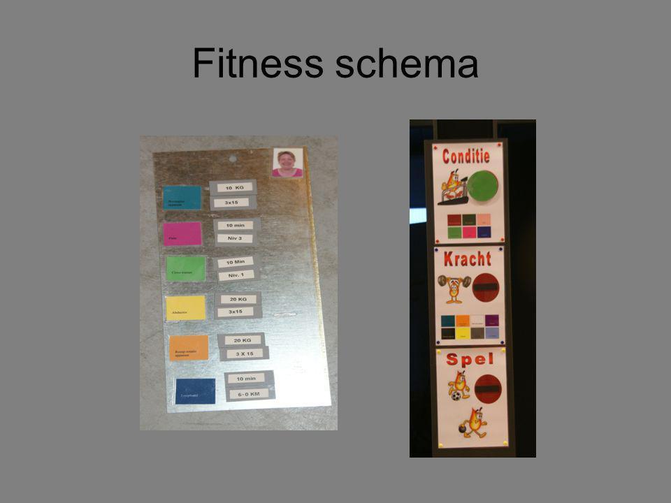 Fitness schema