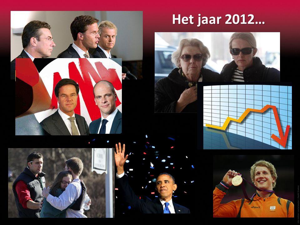 Het jaar 2012…