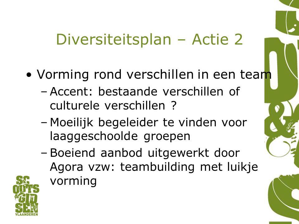 Diversiteitsplan – Actie 2