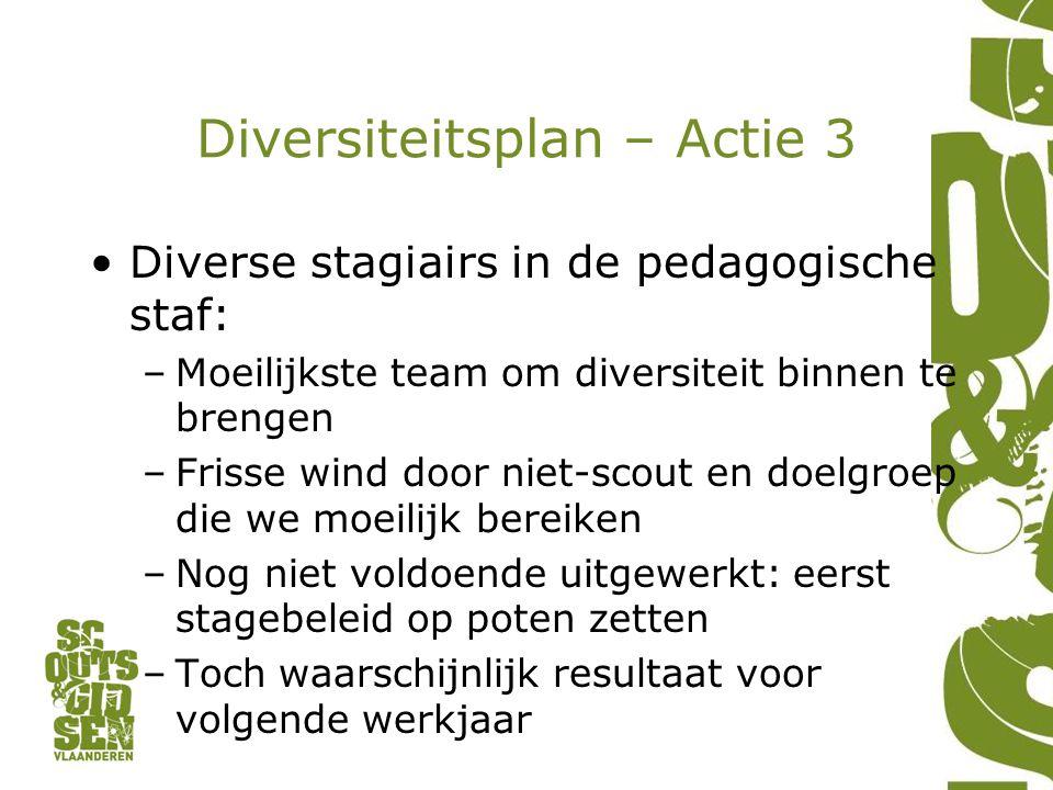Diversiteitsplan – Actie 3