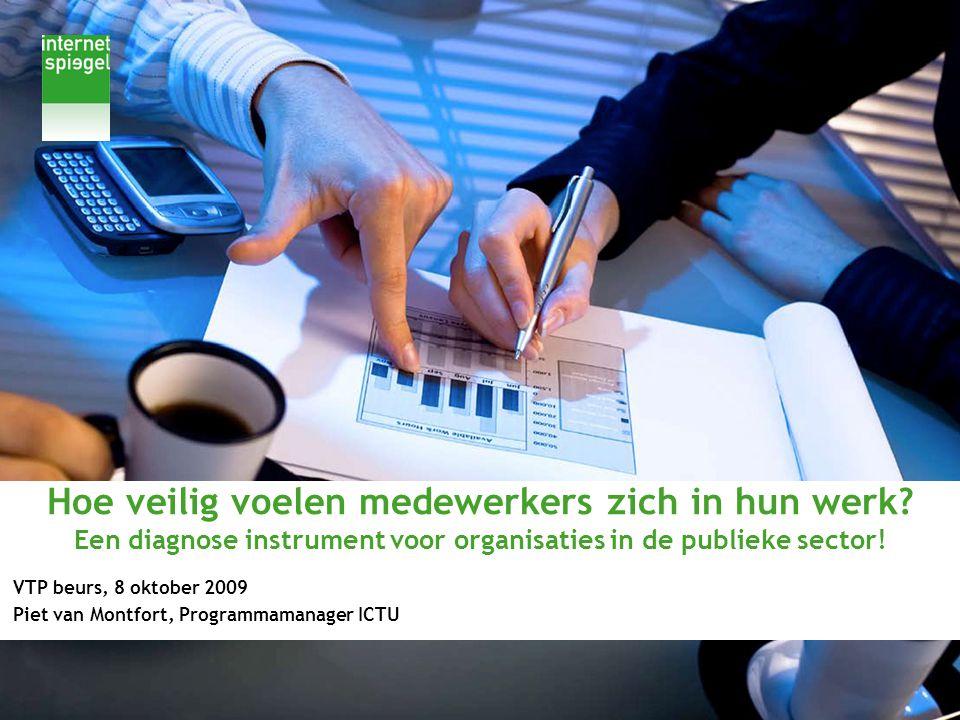 VTP beurs, 8 oktober 2009 Piet van Montfort, Programmamanager ICTU