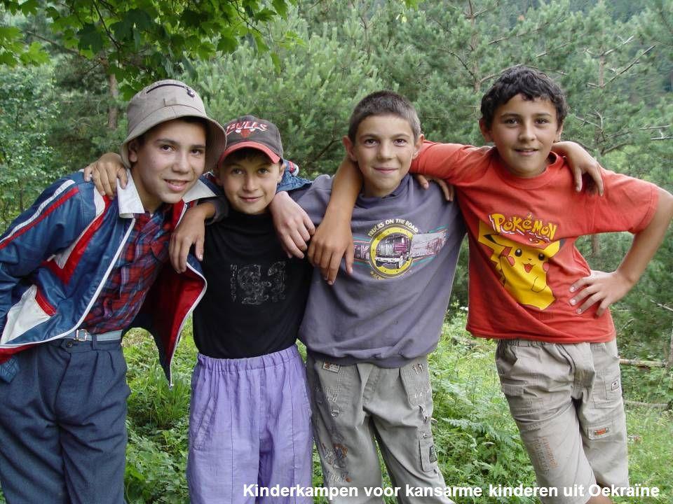 Kinderkampen voor kansarme kinderen uit Oekraïne