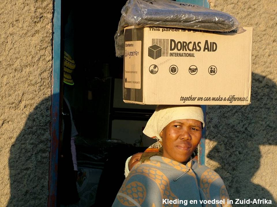 Kleding en voedsel in Zuid-Afrika