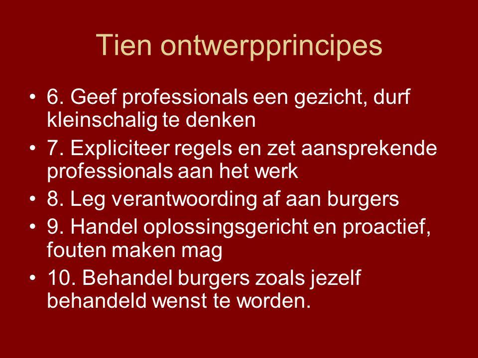 Tien ontwerpprincipes