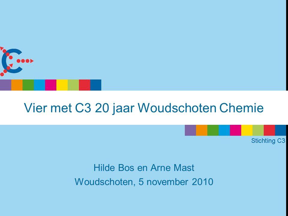 Vier met C3 20 jaar Woudschoten Chemie