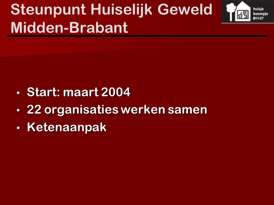 Steunpunt Huiselijk Geweld Midden-Brabant