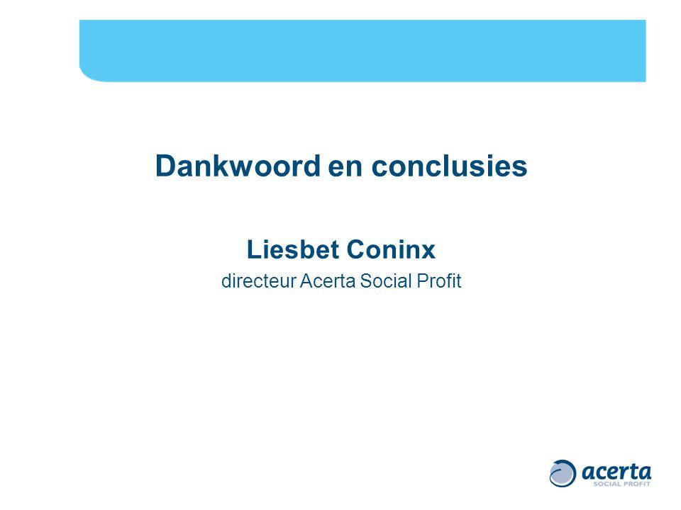 Dankwoord en conclusies