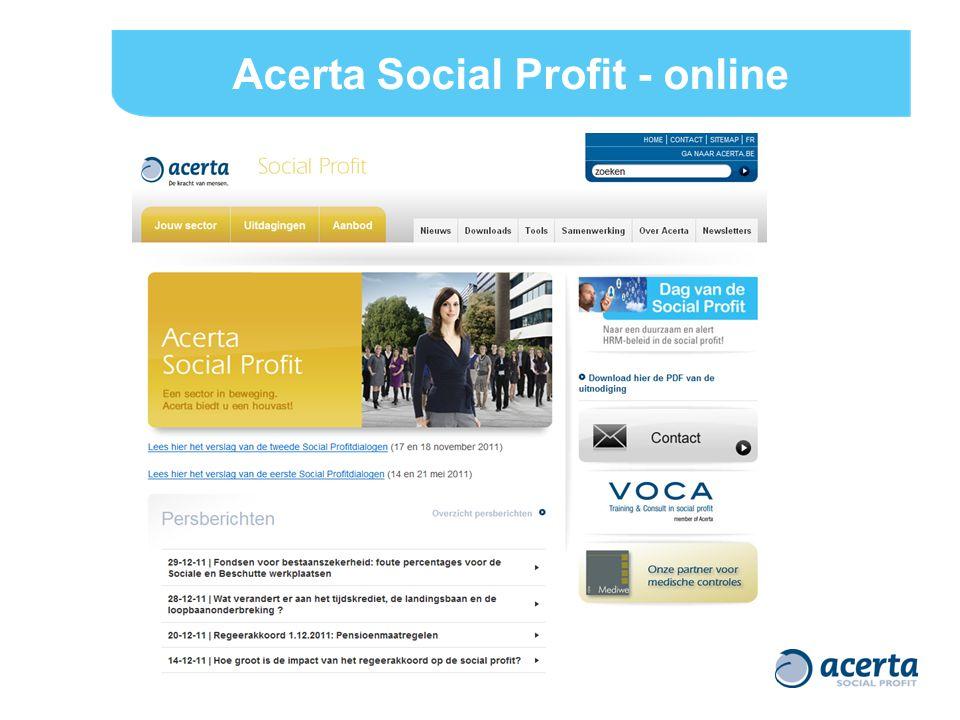 Acerta Social Profit - online