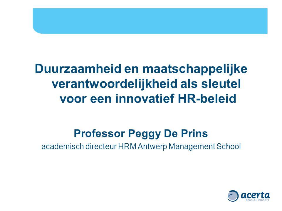 Professor Peggy De Prins