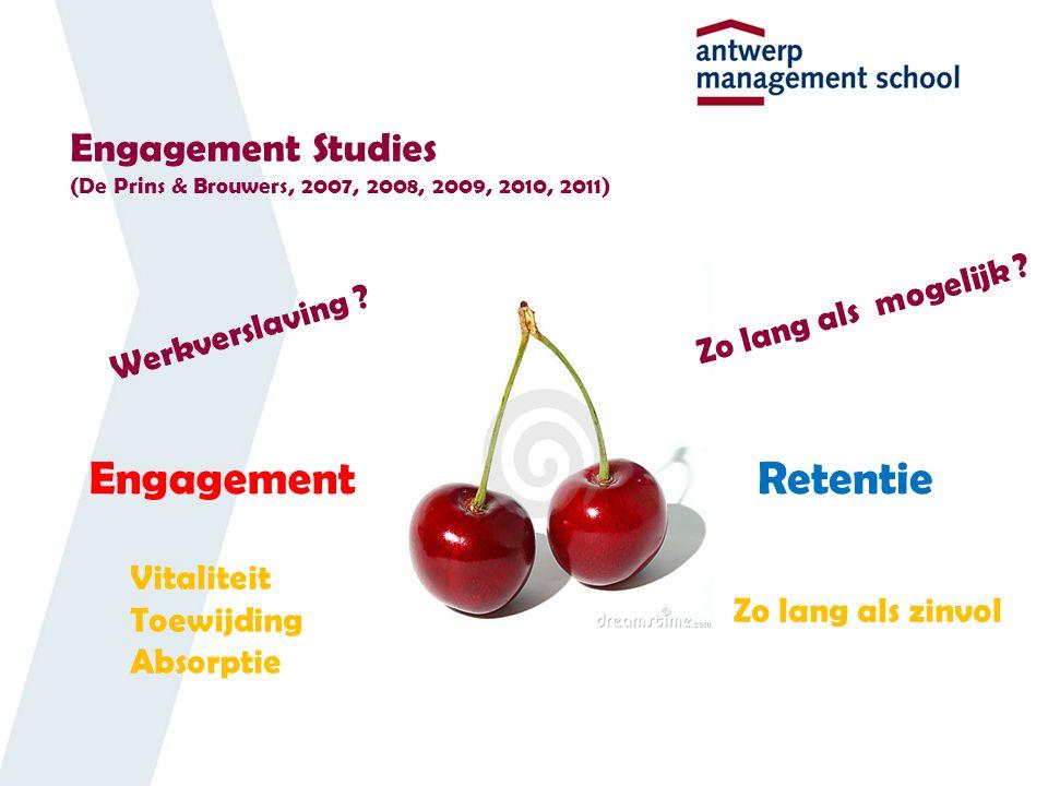 Engagement Studies (De Prins & Brouwers, 2007, 2008, 2009, 2010, 2011)