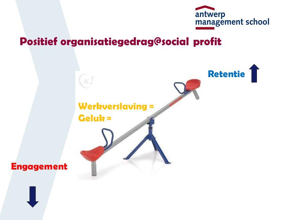 Positief organisatiegedrag@social profit