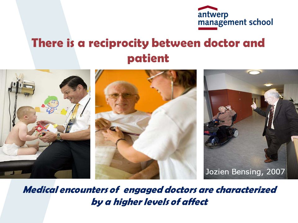 There is a reciprocity between doctor and patient