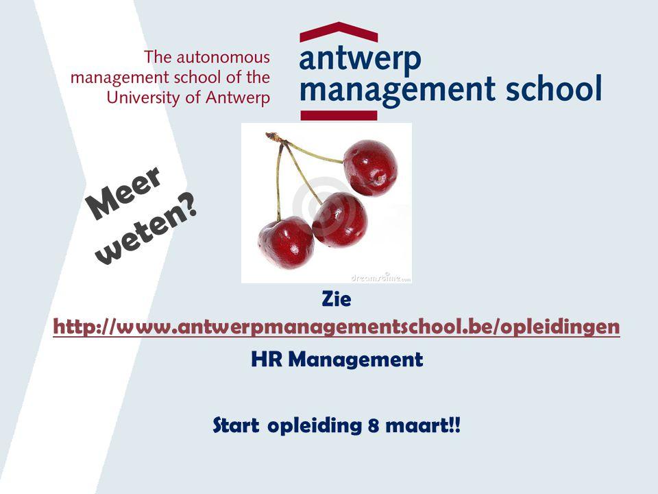 Zie http://www.antwerpmanagementschool.be/opleidingen