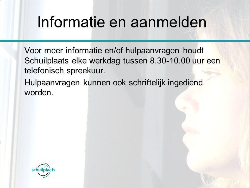 Informatie en aanmelden