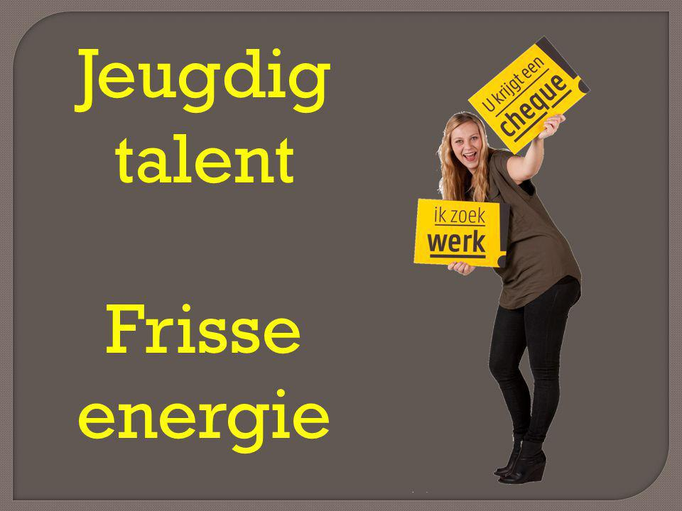 Jeugdig talent Frisse energie