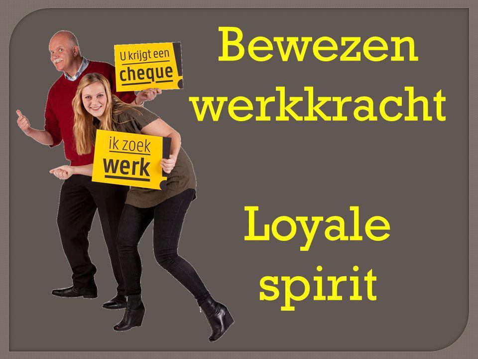 Bewezen werkkracht Loyale spirit
