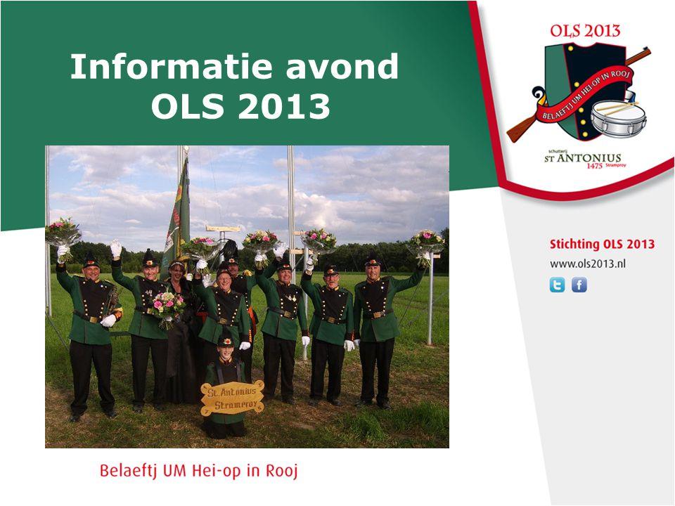Informatie avond OLS 2013