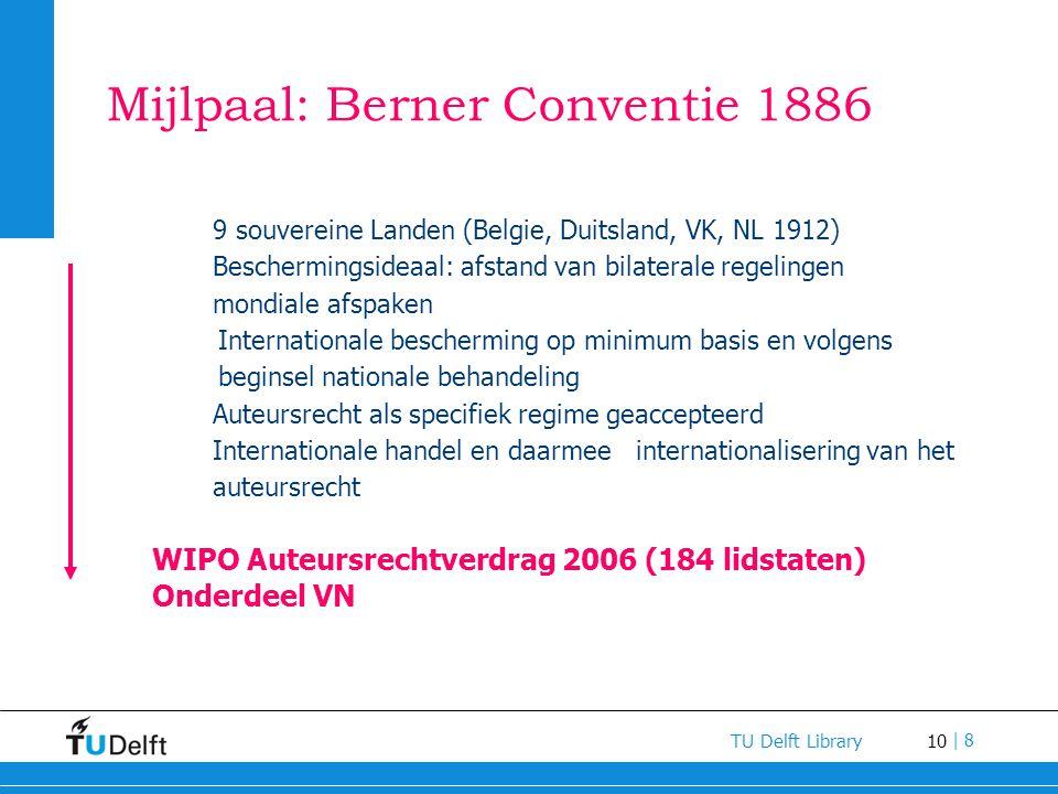 Mijlpaal: Berner Conventie 1886