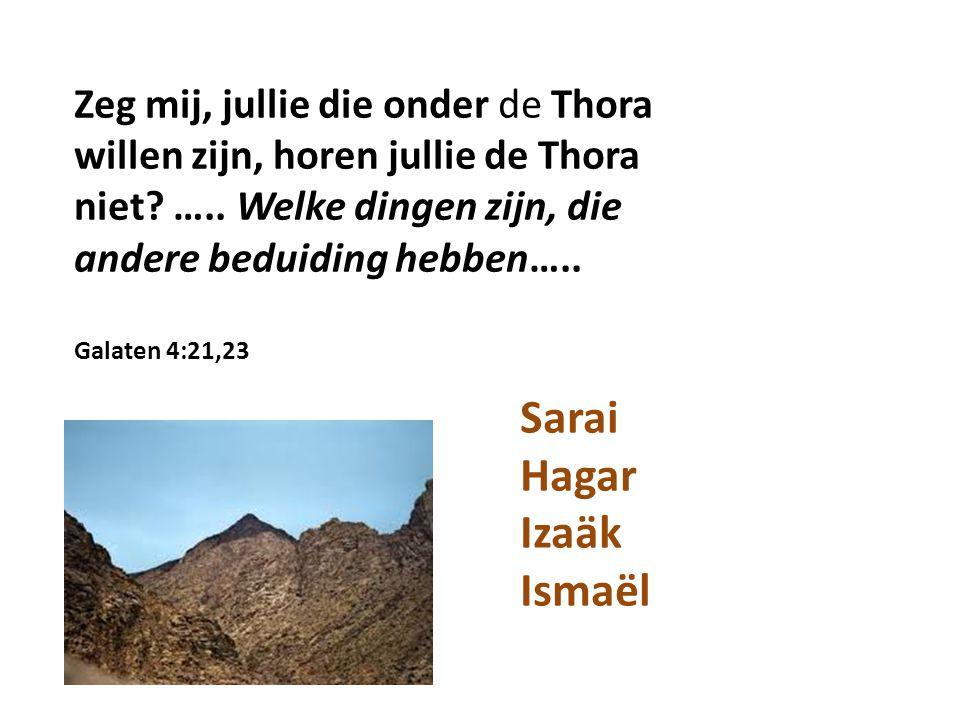 Sarai Hagar Izaäk Ismaël