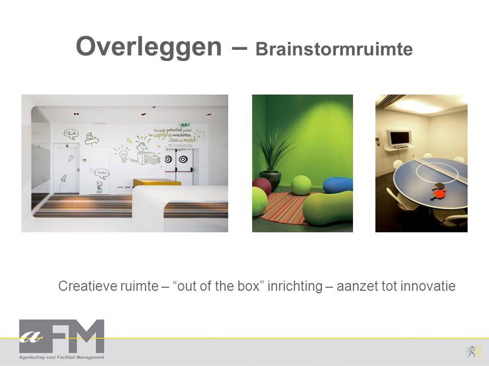 Overleggen – Brainstormruimte