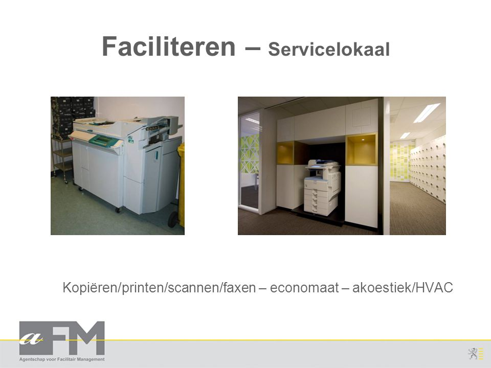 Faciliteren – Servicelokaal