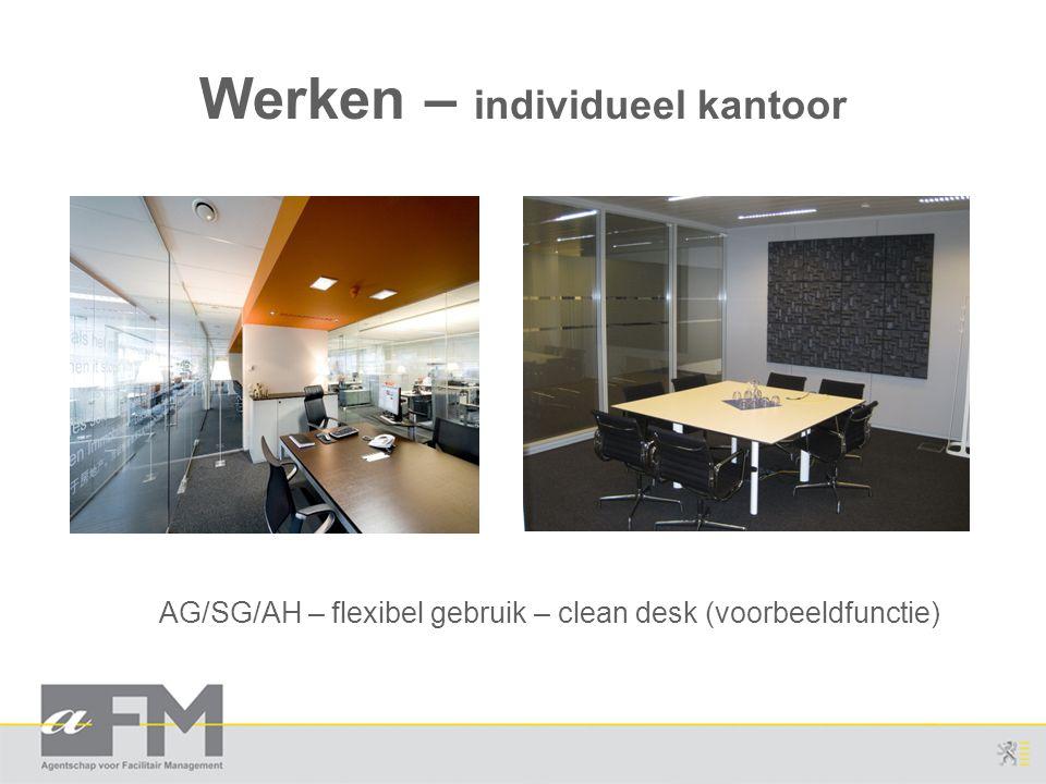 Werken – individueel kantoor