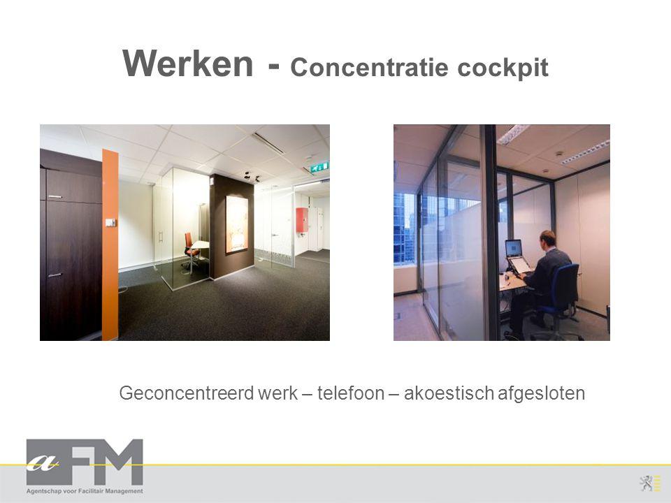 Werken - Concentratie cockpit