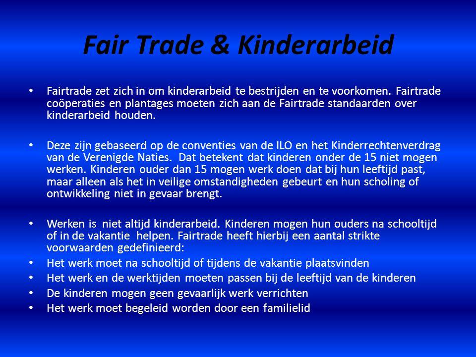 Fair Trade & Kinderarbeid