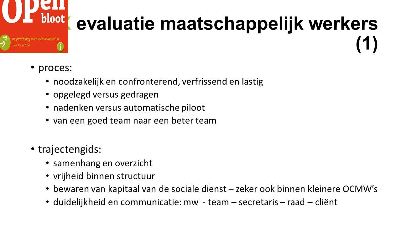 XXX evaluatie maatschappelijk werkers (1)