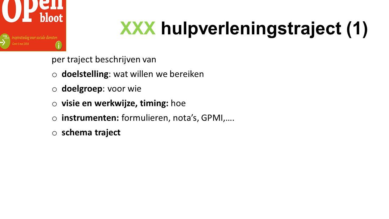 XXX hulpverleningstraject (1)