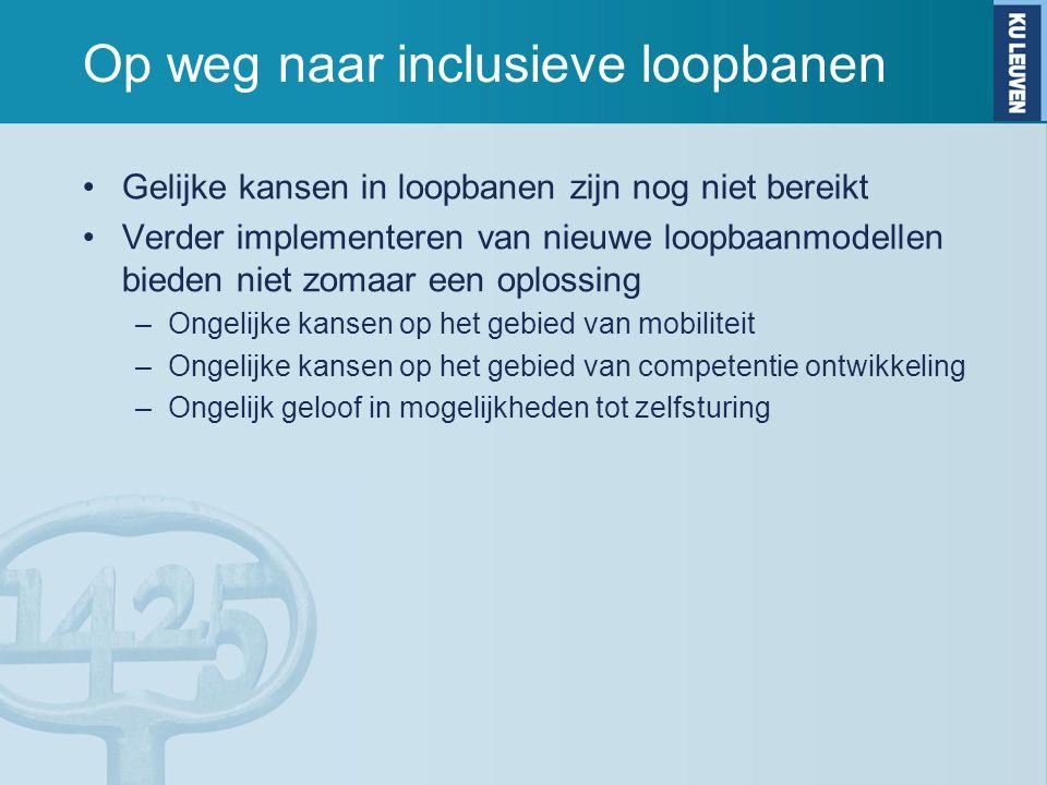 Op weg naar inclusieve loopbanen