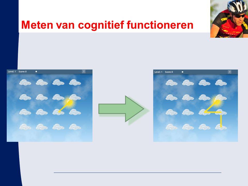 Meten van cognitief functioneren