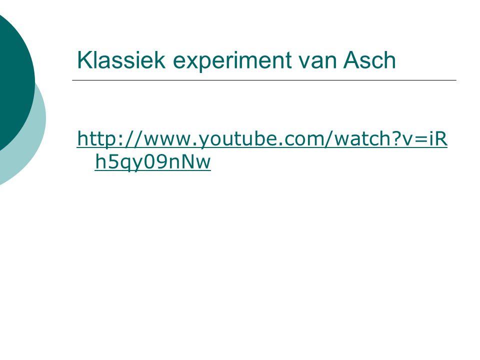 Klassiek experiment van Asch
