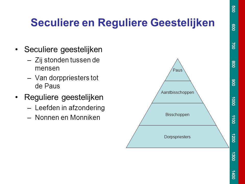 Seculiere en Reguliere Geestelijken