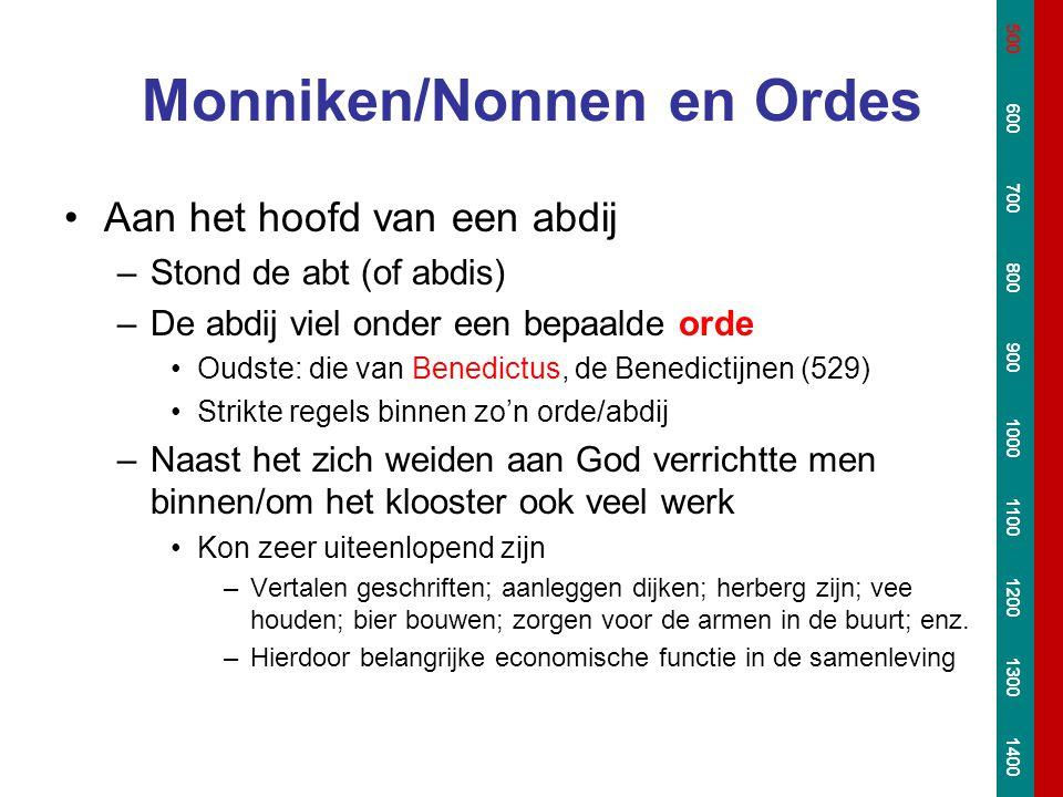 Monniken/Nonnen en Ordes